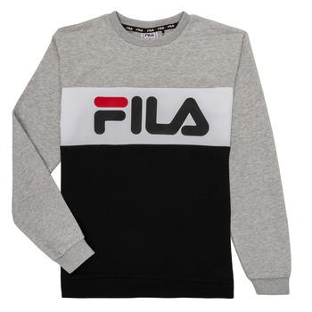 Textiel Kinderen Sweaters / Sweatshirts Fila FLORE Grijs / Zwart