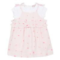 Textiel Meisjes Korte jurken Lili Gaufrette NAZETTE Roze