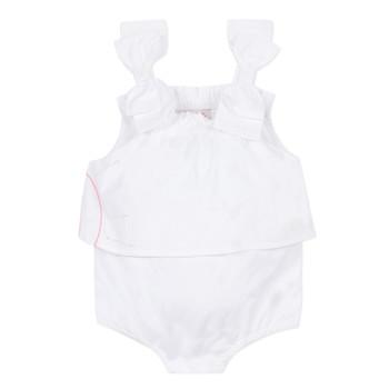 Textiel Meisjes Jumpsuites / Tuinbroeken Lili Gaufrette NOLENI Wit
