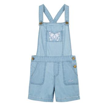 Textiel Meisjes Jumpsuites / Tuinbroeken Lili Gaufrette NANYSSE Blauw