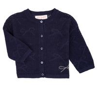 Textiel Meisjes Vesten / Cardigans Lili Gaufrette CETELIA Marine