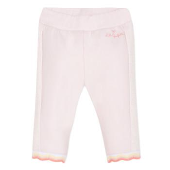 Textiel Meisjes 5 zakken broeken Lili Gaufrette DIM. Roze