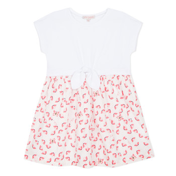 Textiel Meisjes Korte jurken Lili Gaufrette CAYDEN Wit