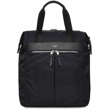 Tassen Dames Rugzakken Knomo Mini Chiltern Tote Backpack 13 inch Zwart