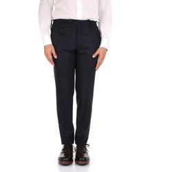 Textiel Heren Pantalons Incotex 1AT091 1721T Blue
