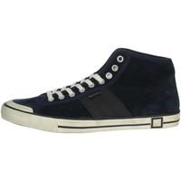 Schoenen Heren Hoge sneakers Date E20-126 Blue