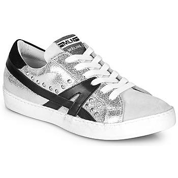 Schoenen Dames Lage sneakers Meline GELOBELO Zilver