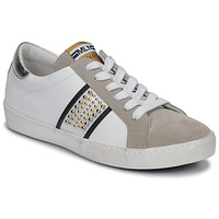 Schoenen Dames Lage sneakers Meline GARILOU Wit / Beige