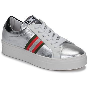 Schoenen Dames Lage sneakers Meline GETSET Zilver