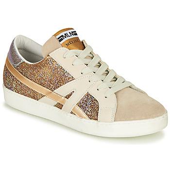 Schoenen Dames Lage sneakers Meline GALLI Goud