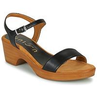 Schoenen Dames Sandalen / Open schoenen Unisa IRITA Zwart