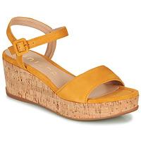 Schoenen Dames Sandalen / Open schoenen Unisa KOME Geel