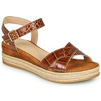 Schoenen Dames Sandalen / Open schoenen Unisa GRANADA Camel