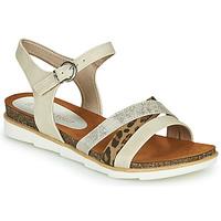 Schoenen Dames Sandalen / Open schoenen Marco Tozzi 2-28410 Beige