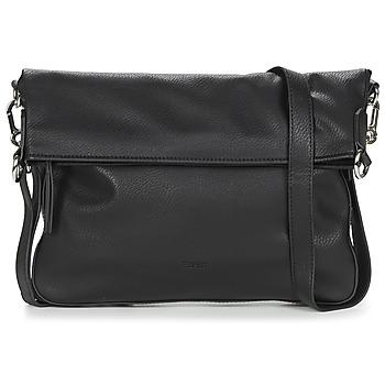 Tassen Dames Schoudertassen met riem Esprit NOOS_V_FLPOVSHB Zwart