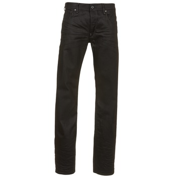 Textiel Heren Straight jeans G-Star Raw ATTAC STRAIGHT Zwart