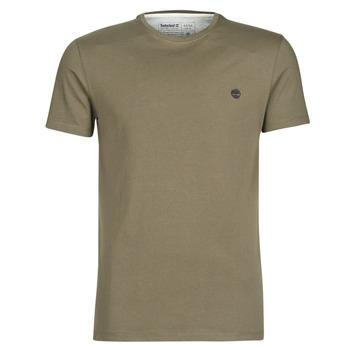 Textiel Heren T-shirts korte mouwen Timberland SS DUNSTAN RIVER CREW TEE Kaki