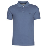Textiel Heren Polo's korte mouwen Timberland SS MILLERS RIVER COLLAR JACQUARD POLO (SLIM) Blauw / Donker
