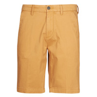 Textiel Heren Korte broeken / Bermuda's Timberland SQUAM LAKE STRETCH TWILL STRAIGHT CHINO SHORT Beige