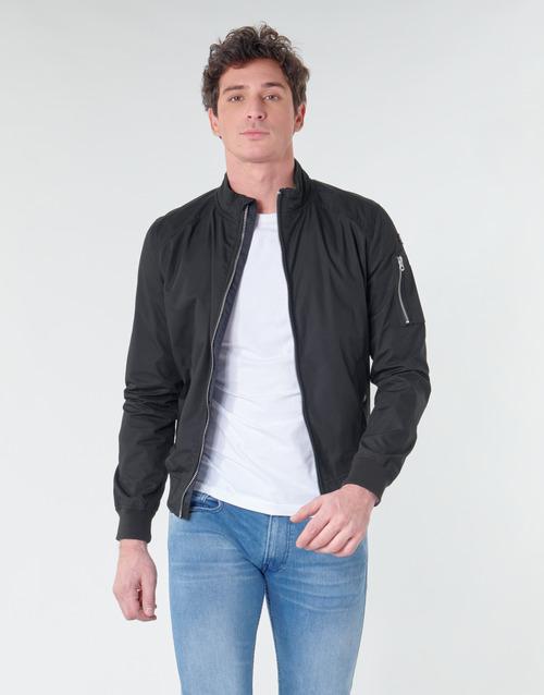 Textiel Heren Wind jackets Schott KENNY Zwart