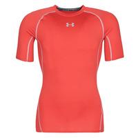 Textiel Heren T-shirts korte mouwen Under Armour UA HEATGEAR ARMOUR Rood
