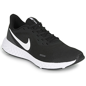 Schoenen Heren Running / trail Nike REVOLUTION 5 Zwart / Wit