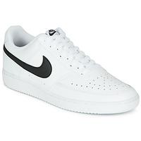 Schoenen Heren Lage sneakers Nike COURT VISION LOW Wit / Zwart