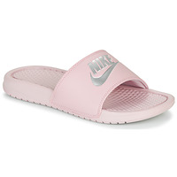 Schoenen Dames slippers Nike BENASSI JUST DO IT Roze