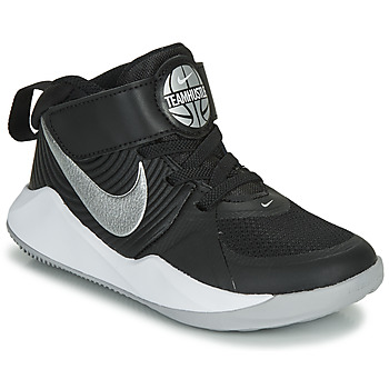 Schoenen Kinderen Allround Nike TEAM HUSTLE D 9 PS Zwart / Zilver