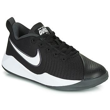 Schoenen Kinderen Allround Nike TEAM HUSTLE QUICK 2 GS Zwart / Wit