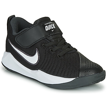 Schoenen Kinderen Allround Nike TEAM HUSTLE QUICK 2 PS Zwart / Wit