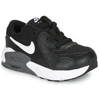 Schoenen Kinderen Lage sneakers Nike AIR MAX EXCEE TD Zwart / Wit