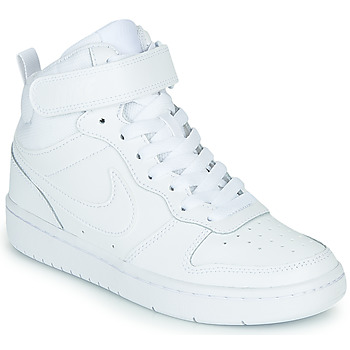 Schoenen Kinderen Lage sneakers Nike COURT BOROUGH MID 2 PS Wit