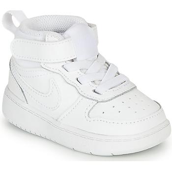 Schoenen Kinderen Lage sneakers Nike COURT BOROUGH MID 2 TD Wit