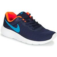 Schoenen Jongens Lage sneakers Nike TANJUN GS Blauw