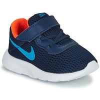 Schoenen Jongens Lage sneakers Nike TANJUN TD Blauw