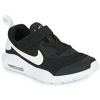 Schoenen Kinderen Lage sneakers Nike AIR MAX OKETO PS Zwart / Wit