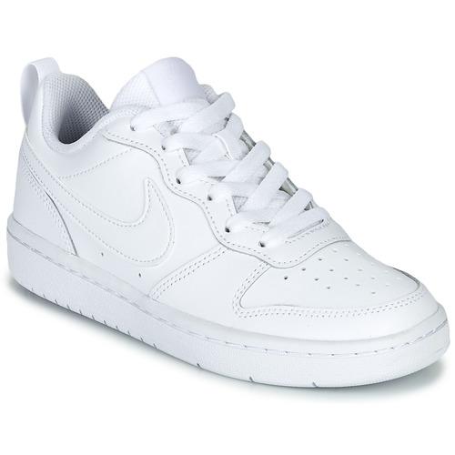 Schoenen Kinderen Lage sneakers Nike COURT BOROUGH LOW 2 GS Wit