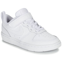 Schoenen Kinderen Lage sneakers Nike COURT BOROUGH LOW 2 PS Wit