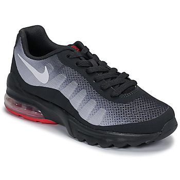 Schoenen Kinderen Lage sneakers Nike AIR MAX INVIGOR GS Zwart / Rood