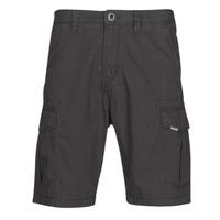 Textiel Heren Korte broeken / Bermuda's Volcom MITER II CARGO SHORT Zwart