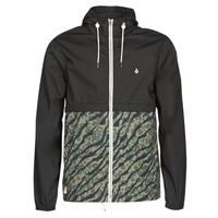 Textiel Heren Windjack Volcom HOWARD HOODED Zwart