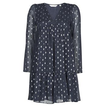 Textiel Dames Korte jurken Naf Naf FOIL Marine