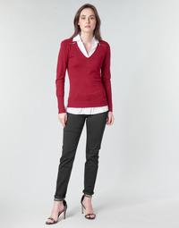 Textiel Dames 5 zakken broeken Morgan PETRA Zwart