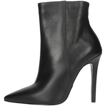 Schoenen Dames Enkellaarzen Elena Del Chio 6193 Black