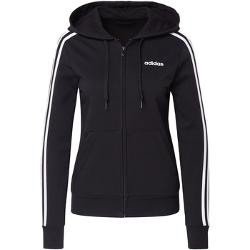 Textiel Dames Sweaters / Sweatshirts adidas Originals Essentials 3-Stripes Hoodie Zwart