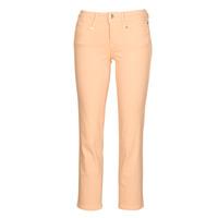 Textiel Dames 5 zakken broeken Freeman T.Porter Loreen New Magic Color Coral-pink