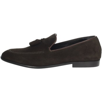 Schoenen Heren Mocassins Antony Sander 23125 Brown