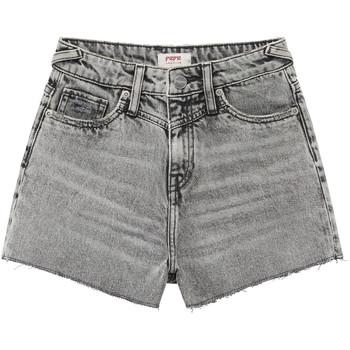 Textiel Meisjes Korte broeken / Bermuda's Pepe jeans ROXIE Grijs
