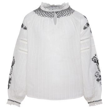 Textiel Meisjes Tops / Blousjes Pepe jeans RONIE Wit